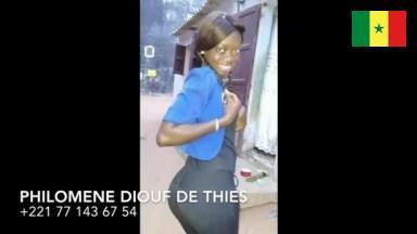 Philomene Diouf +221771436754, eleve a Thies, elle est jeune mais tres poilue