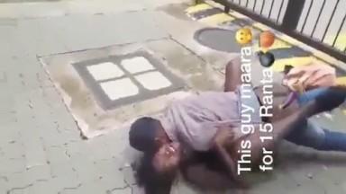 Il baise une prostituee en pleine rue