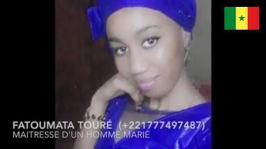 Sextape torride de Fatoumata Touré (+221777497487) maitresse d'un homme marié
