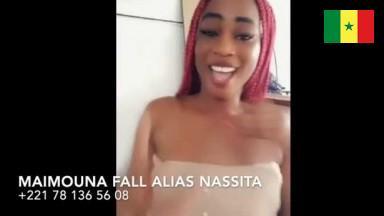 Sextape de Maimouna Fall alias nassita +221 78 136 56 08