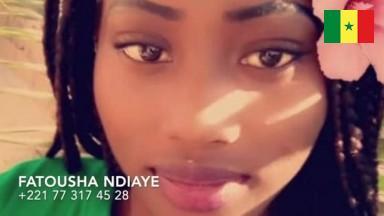 Sextape de Fatousha Ndiaye +221 77 317 45 28 elle se masturbe avec sa brosse a dent