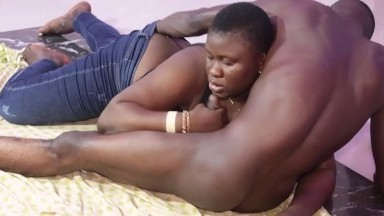 My Discussion With African Gift Turned To A Slow Hot Sex