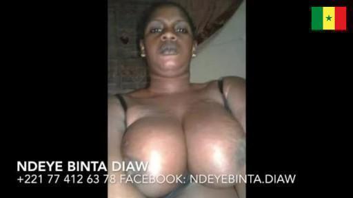 Baise de la drianké ndeye Bintou Diaw